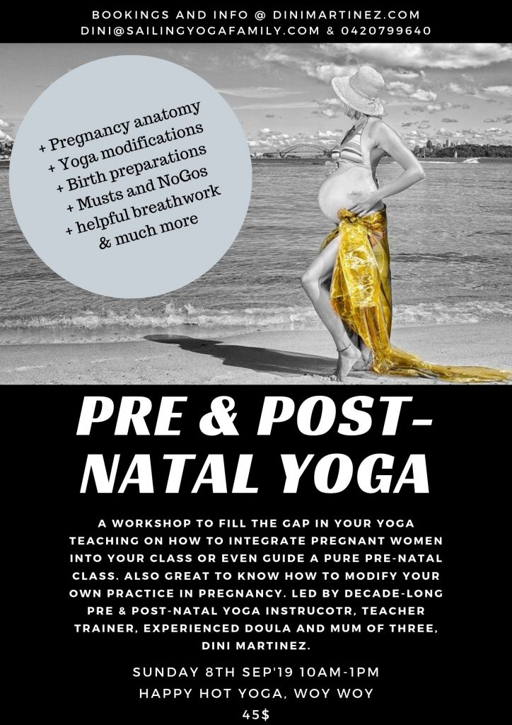 Pre and Post-Natal Yoga Workshop_Poster