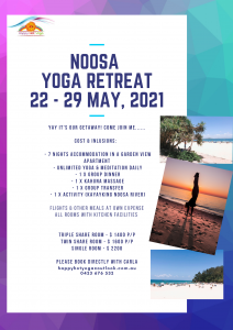 Noosa Yoga Retreat 2021