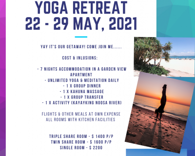 Noosa Yoga Retreat 2021